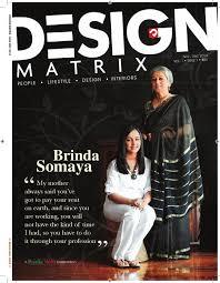 Brinda -Design Matrix