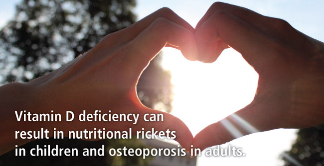 Deficiency of Vit D calls diseases